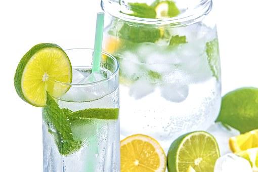 agua con lima
