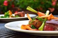 carne y verdura
